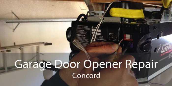 Garage Door Opener Repair Concord