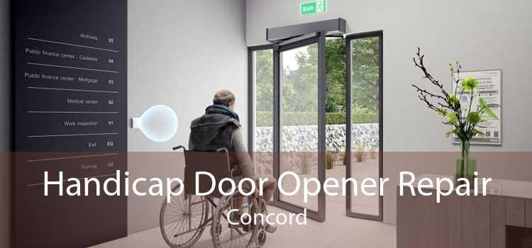 Handicap Door Opener Repair Concord