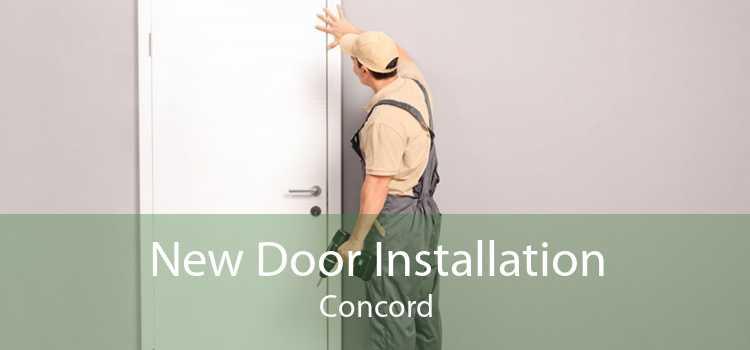 New Door Installation Concord