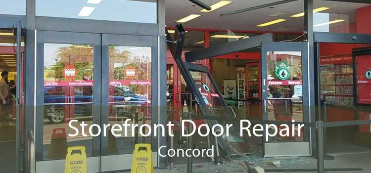Storefront Door Repair Concord