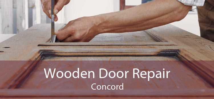 Wooden Door Repair Concord